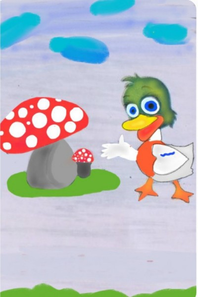 a cute little duck  | srijani | Digital Drawing | PENUP