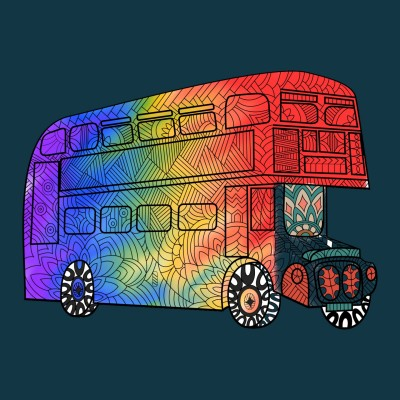Cool rainbow truck  | A.K.G_INDIA | Digital Drawing | PENUP