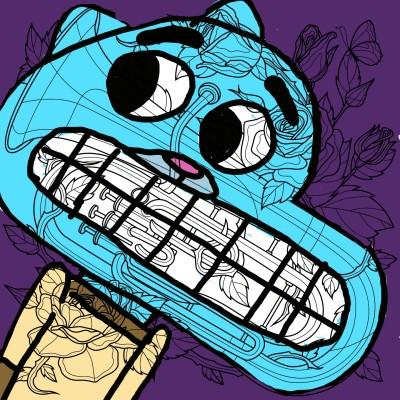gambol    J-O-C   Digital Drawing   PENUP