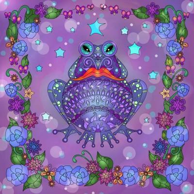 King Frog  | Sylvia | Digital Drawing | PENUP