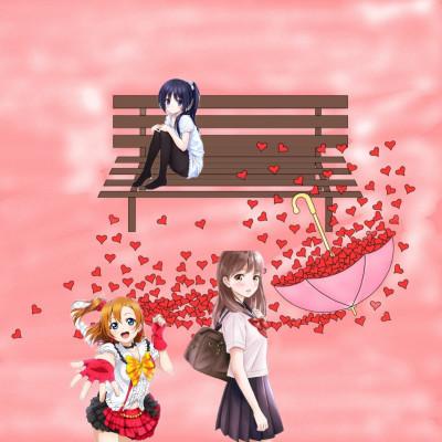 Happy girls and sad girl | taymastop | Digital Drawing | PENUP