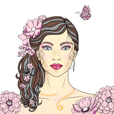 In Pink | Luxurymapss.com | Digital Drawing | PENUP
