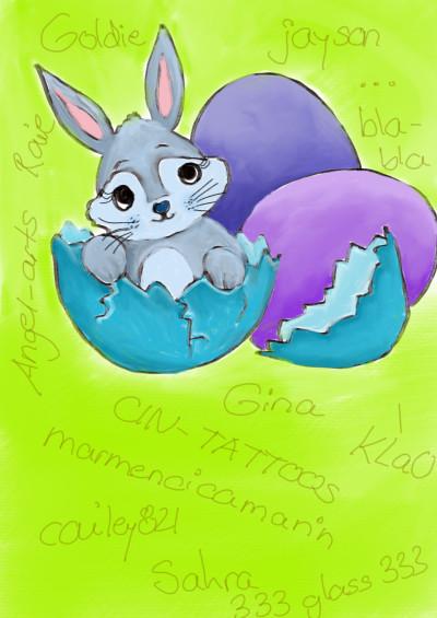 Happy Easter ♡♡♡♡♡♡♡ | sherlock | Digital Drawing | PENUP