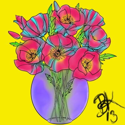 Flower Bouquet    BeanaKing13   Digital Drawing   PENUP