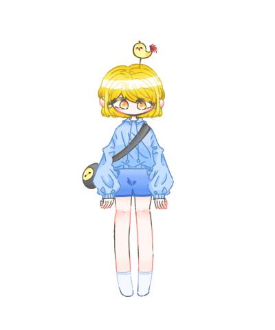 자캐   Lang_e   Digital Drawing   PENUP