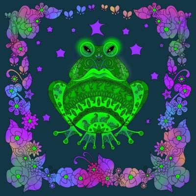 Frosch  | Klimtin | Digital Drawing | PENUP