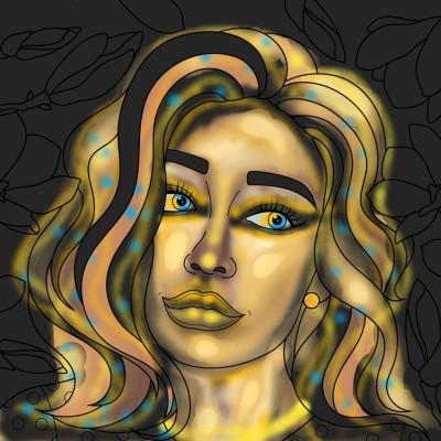 Gold Touch | Luxurymapss.com | Digital Drawing | PENUP