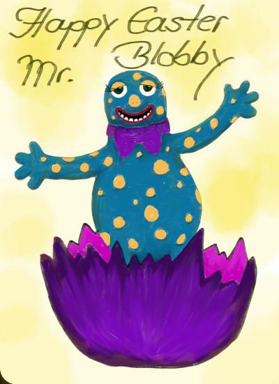 Happy Easter Mr. Blobby | sherlock | Digital Drawing | PENUP