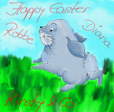 Happy Easter Robbe, Diane, Kirsty&Co♡♡♡♡ | sherlock | Digital Drawing | PENUP