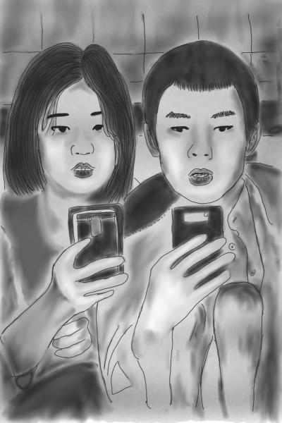Parasiteㅡ 기생충    oroll   Digital Drawing   PENUP