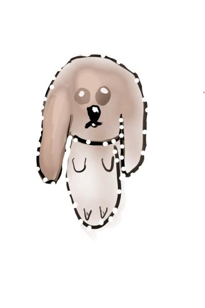 兔子拿燈泡   AnnaChen   Digital Drawing   PENUP