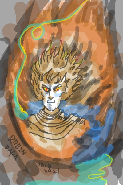 Alien Genesis : Captain Future | RobinPAPA | Digital Drawing | PENUP