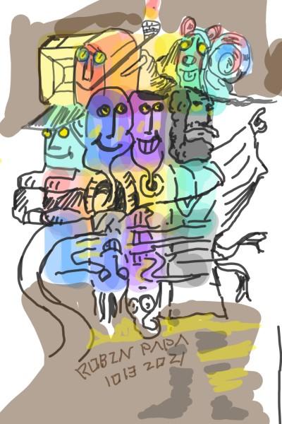 Story : Smile : Sleep  | RobinPAPA | Digital Drawing | PENUP