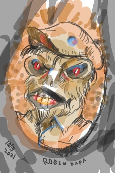Duck Alien : dark brown   RobinPAPA   Digital Drawing   PENUP
