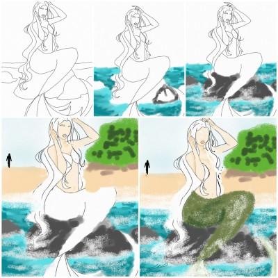 How I drew it   Natasha   Digital Drawing   PENUP