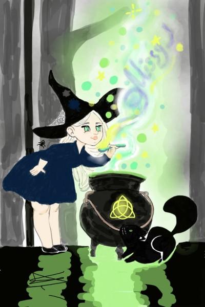 Witch for Missy J   Natasha   Digital Drawing   PENUP