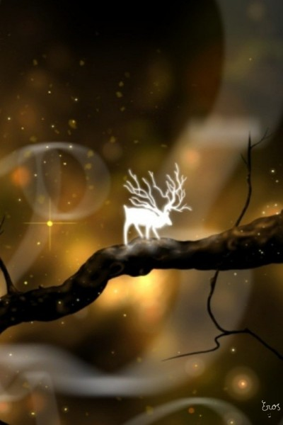 L'alce incantato    Eros08   Digital Drawing   PENUP