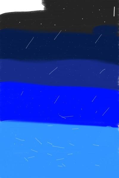 밤  하늘의  별 | westside400 | Digital Drawing | PENUP