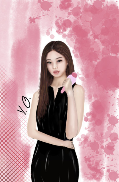《◇~BLACKPINK~◇》 ★♥Jennie ♥★ | Y.O. | Digital Drawing | PENUP
