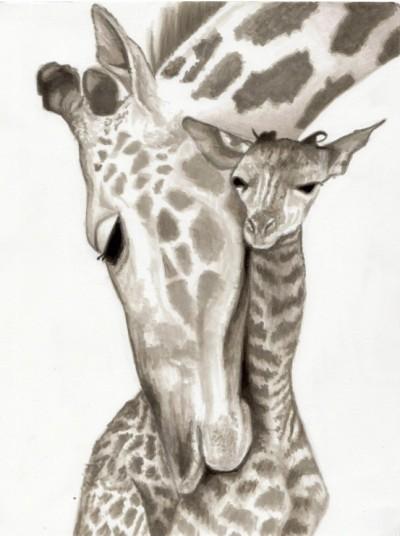 giraffe | I_love_Avengers | Digital Drawing | PENUP