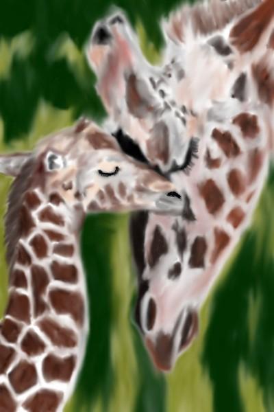 Giraffes  | Mark349 | Digital Drawing | PENUP