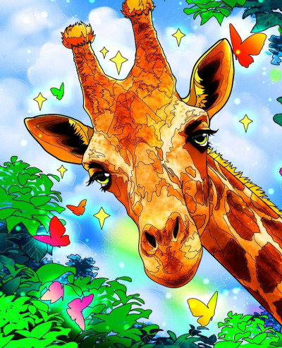 giraffe | the_star | Digital Drawing | PENUP