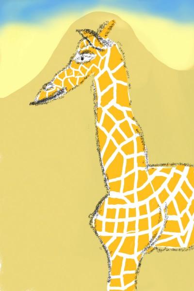 Giraffe   Aufderhoehe   Digital Drawing   PENUP
