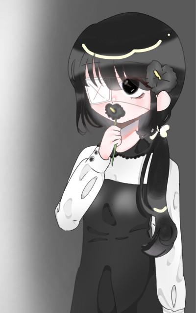 갓브레팀_주제_꽃_검은색 접시꽃 | _Sso | Digital Drawing | PENUP