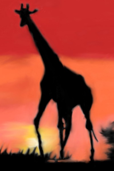 Giraffe  | Mark349 | Digital Drawing | PENUP