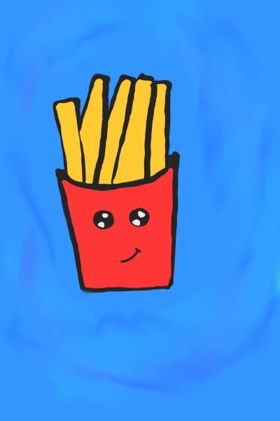 Kawaii Fries | Mylena | Digital Drawing | PENUP