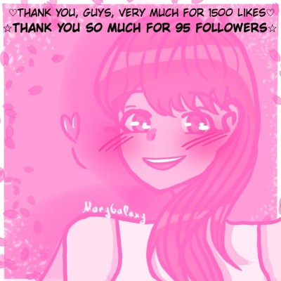Thank you so much (〃ω〃) | MaryGalaxy | Digital Drawing | PENUP