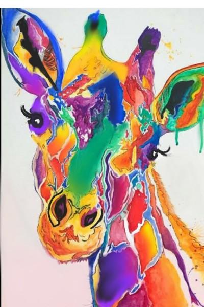 rainbow giraffe  | upaasana | Digital Drawing | PENUP
