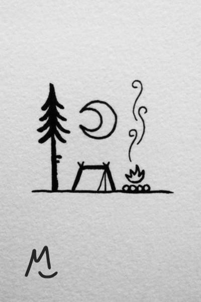 Campfire   LucyShadow   Digital Drawing   PENUP