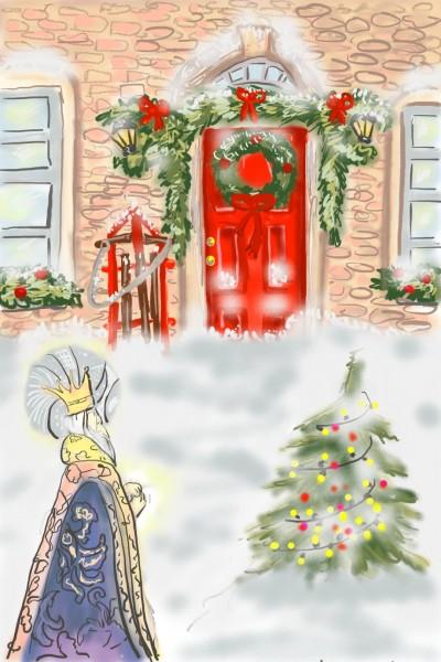 Winter door | Un2amED | Digital Drawing | PENUP