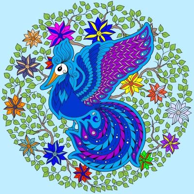 Colorful Bird | Boomer | Digital Drawing | PENUP