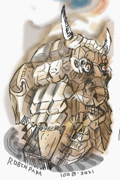 Alien Animal idols . | RobinPAPA | Digital Drawing | PENUP