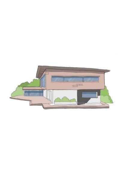 luxury villa  | armin | Digital Drawing | PENUP