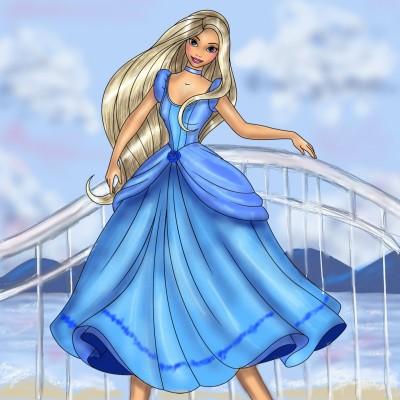 Princess Doll   jenart   Digital Drawing   PENUP