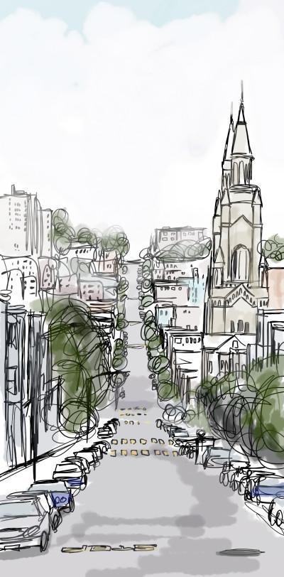 Travel Digital Drawing | ldauti. | PENUP