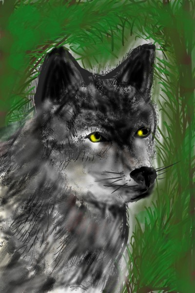 Animal Digital Drawing | Barbra | PENUP