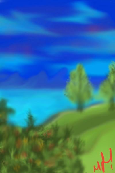 Landscape Digital Drawing   tunc25   PENUP