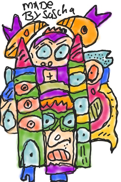 cartoons makes happy | saschapaint22 | Digital Drawing | PENUP