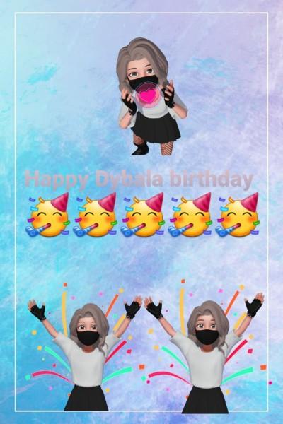 Happy Dybala birthday | GHENA | Digital Drawing | PENUP