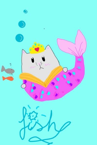 pusheen on a water adventure  | THE_BEST | Digital Drawing | PENUP