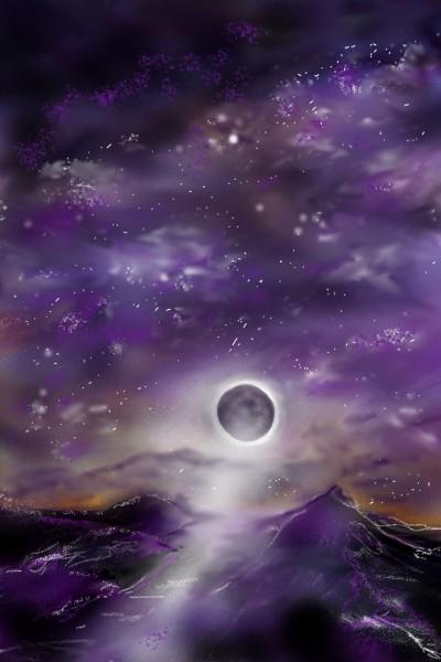 Let's draw Moon Challenge ( nr 2 ) | Barbra | Digital Drawing | PENUP