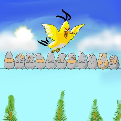angry bird | OmrGhabban | Digital Drawing | PENUP