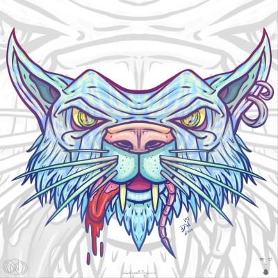 Cat the rat eater by nikolass  | nikolass83 | Digital Drawing | PENUP
