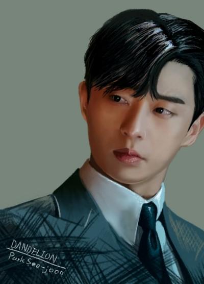 Park Seo-joon | -DANDELION- | Digital Drawing | PENUP
