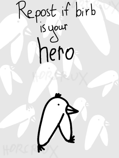 Repost if Birb is your Hero | _Horcrux_ | Digital Drawing | PENUP