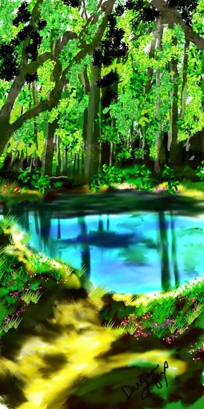 River | missdarrian | Digital Drawing | PENUP